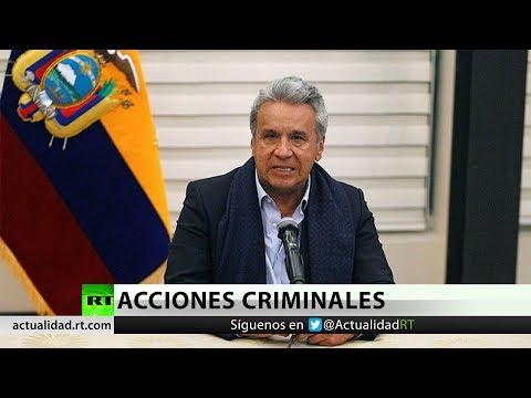 Ecuador suspende su rol de garante en el proceso de paz con el ELN