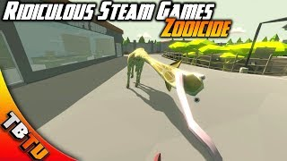 ANIMALS VS HUMANS! ZOOICIDE GAMEPLAY! Ridiculous Steam Games E1
