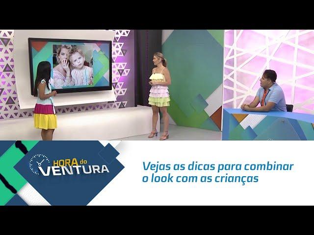 Moda pais e filhos: Vejas as dicas para combinar o look com as crianças