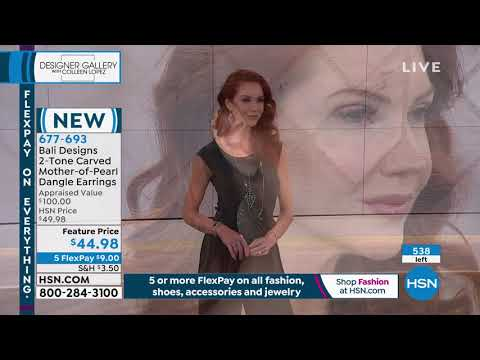 HSN | Designer Gallery with Colleen Lopez Jewelry . http://bit.ly/2mrSa7o