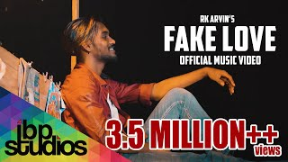 Fake Love - Rk Arvin ( Official Music Video ) | Poiyana Kadhal 2