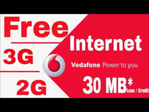 How To Get 3g Internet Loan Credit In Vodafone Sim Card How To Get Net Loan In Vodafone