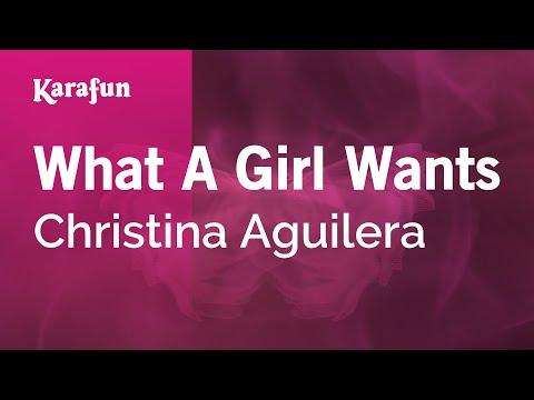 Karaoke What A Girl Wants - Christina Aguilera *