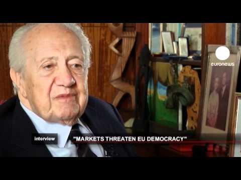 euronews interview - Financial 'monsters' threaten democracy