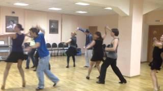 Онлайн урок в LET'S DANCE CLUB.Salsa I Борис Жуйко
