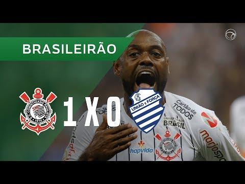 CORINTHIANS 1 X 0 CSA - GOL - 14/07 - CAMPEONATO BRASILEIRO 2019