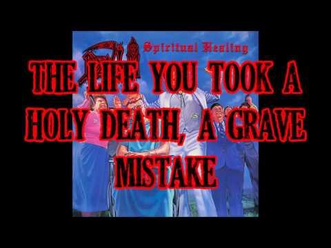 Death - Spiritual Healing (lyrics)