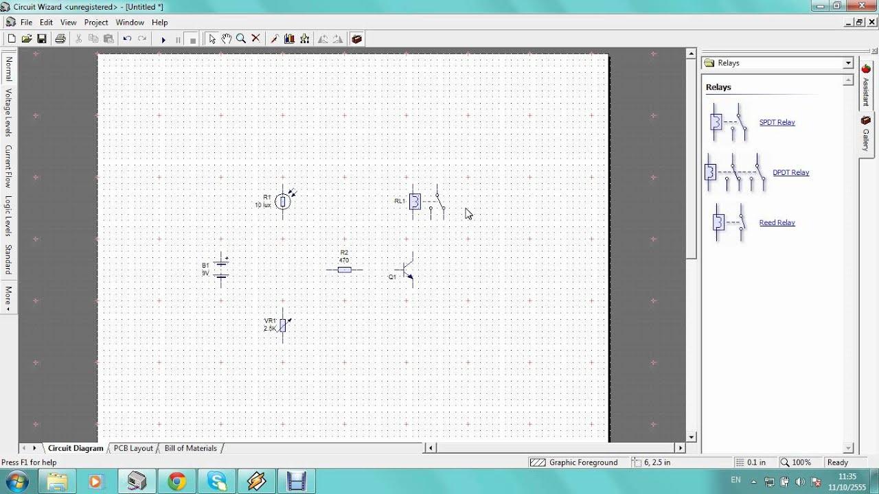 Circuit Wizard Detector Lightavi Youtube Sensor Ldr