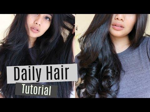 Tutorial Catok Rambut Badai. How I Curl My Hair | Wita Ervianda