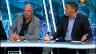 Show del futbol: Fava imitando a Alaluf 22/3/2015