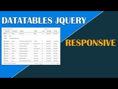 DataTable Responsive Jquery (1)