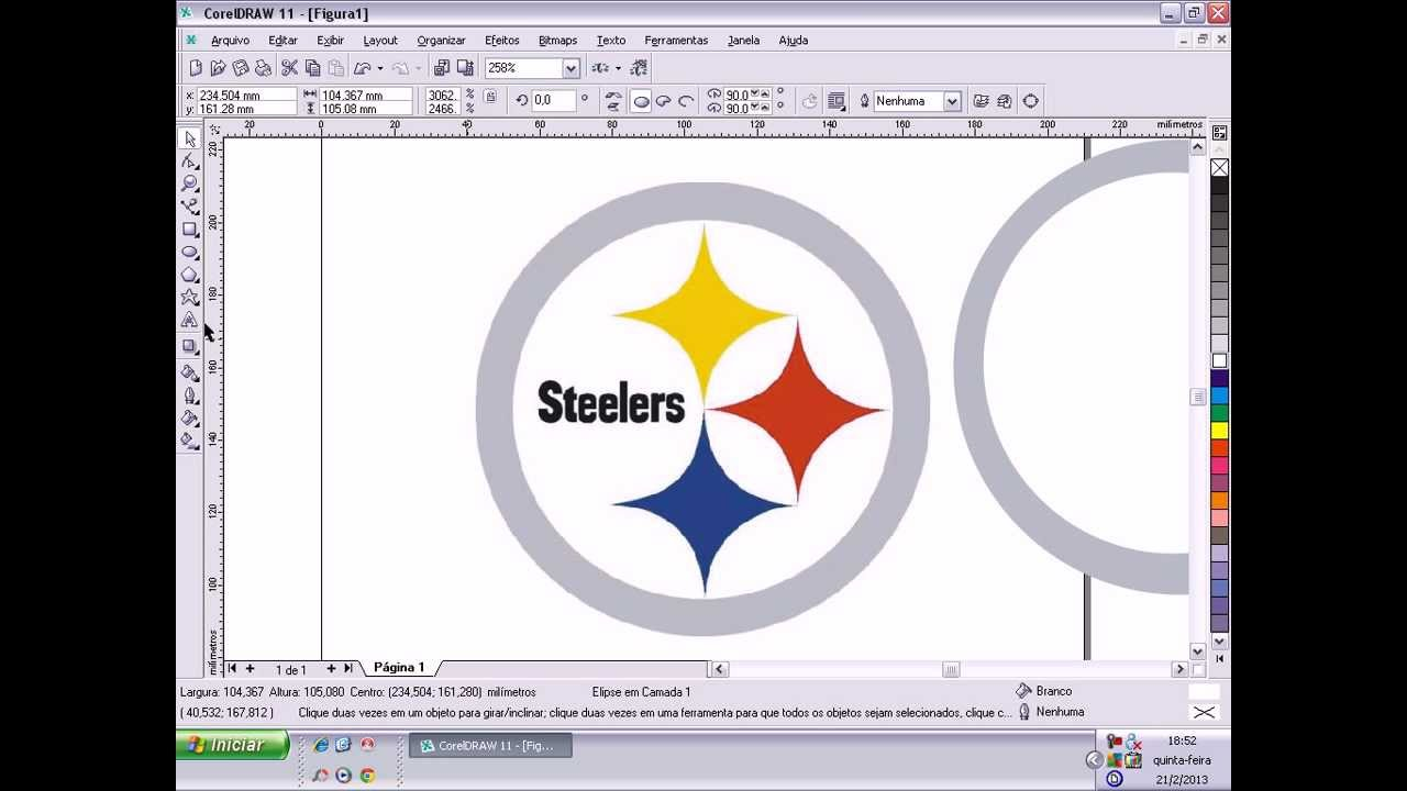 how to draw steelers sign