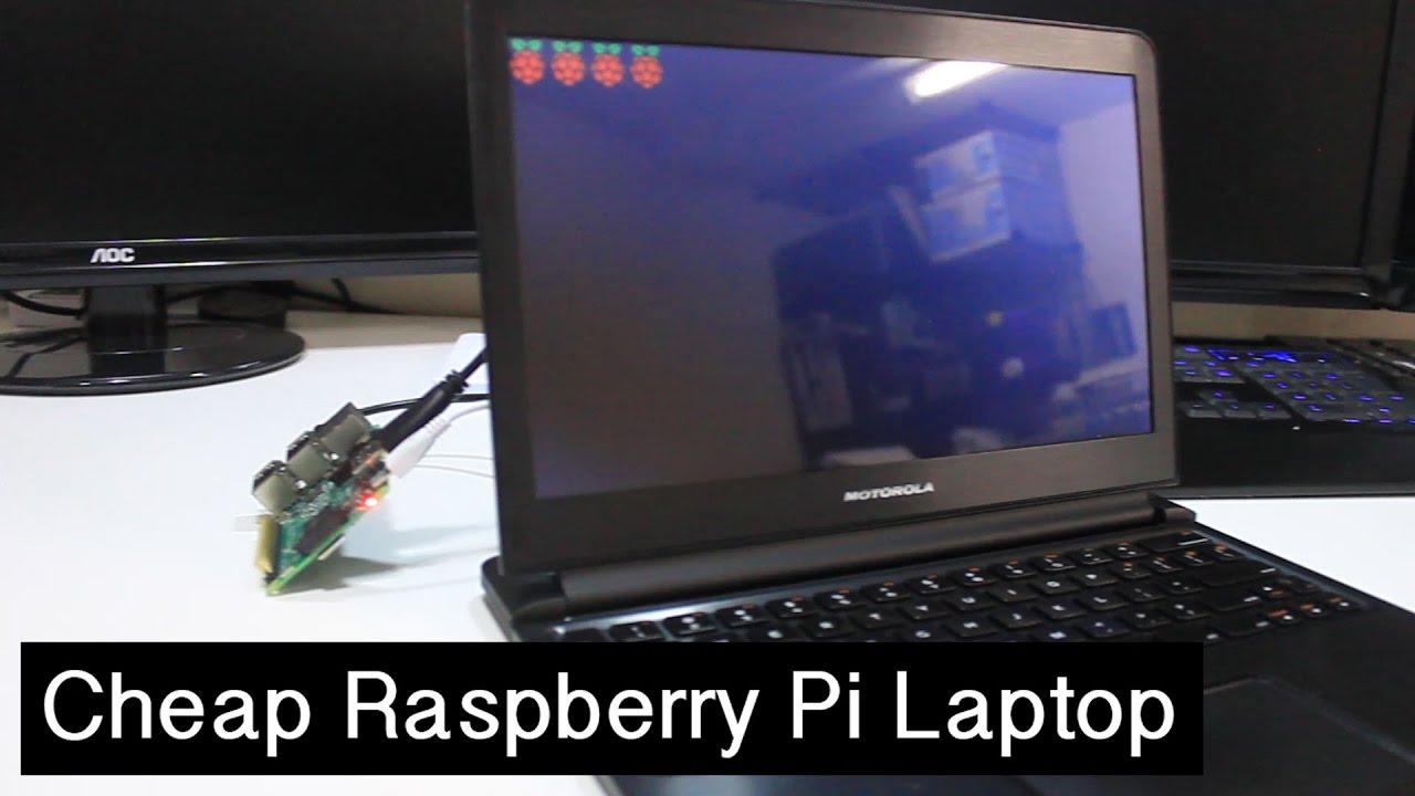 Diy cheap raspberry pi laptop youtube solutioingenieria Image collections