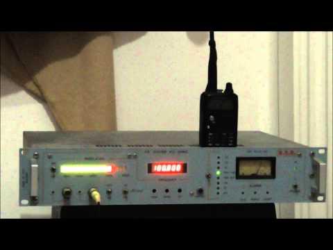RADIO LASER 100.8 HERAKLIO ON AIR WITH FM EXCITER PTX 30 RVR