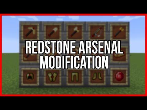 Minecraft Mod Spotlight - REDSTONE ARSENAL [German]