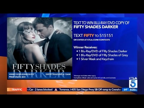 """Download """"50 Shades"""" Text-to-Win Giveaway"""