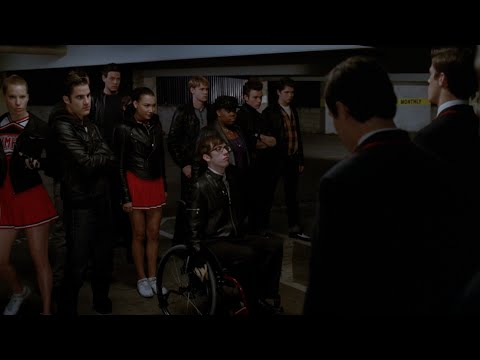 GLEE  Bad Full Performance HD