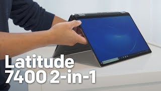 Dell Latitude 7400 2-in-1 Hands-On: World's Smallest Commercial 14-inch 2-in-1