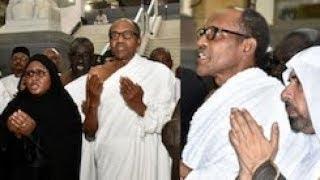 Must Watch!!! President Buhari 'Running' While Performing Umrah In Makkah(Video)