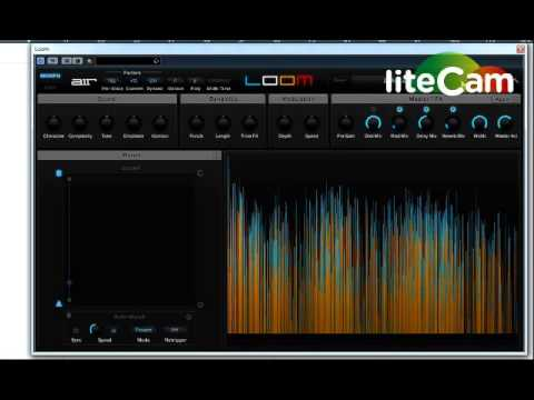 AIR Loom VST Presets demo - Awesome Synth , all showcase presets demoed
