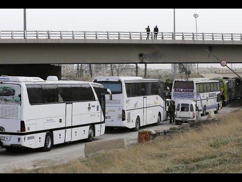 أكثر من 105 آلاف مدني هجروا من الغوطة الشرقية  - نشر قبل 1 ساعة