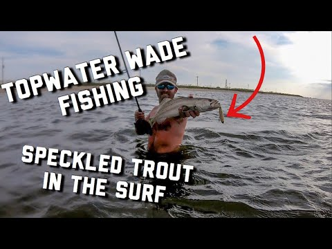 Surf Fishing With Artificial Baits | Gulf Shores Speckled Trout Fishing
