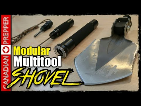 Incredible Modular Shovel Multitool