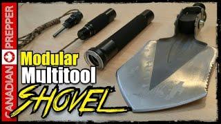 Incredible Modular Shovel Multitool