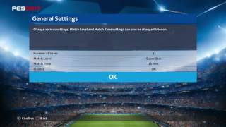 Video UEFA Champions League   In-Game Mode Music   PES 2017 download MP3, 3GP, MP4, WEBM, AVI, FLV Oktober 2018