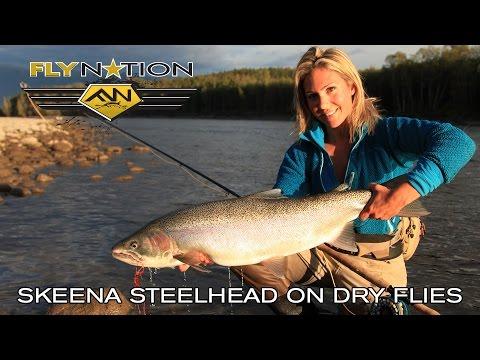 Fly Nation Skeena Steelhead On Dry Flies