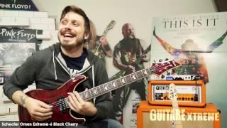 Guitare Xtreme Magazine #77 - Schecter Omen Extreme-6 Black Cherry