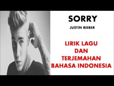 SORRY - JUSTIN BIEBER | LIRIK LAGU DAN TERJEMAHAN BAHASA INDONESIA (COVER)