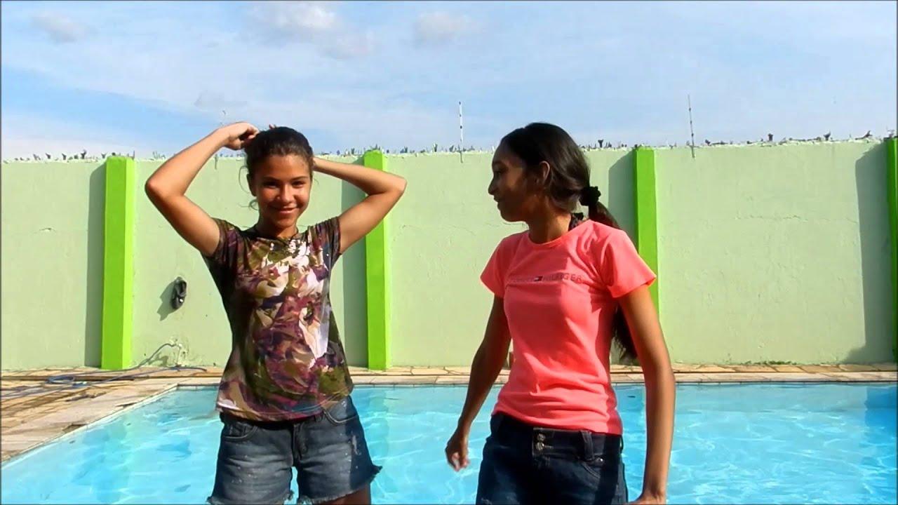 Desafio da piscina (ft.Amanda Karoline)