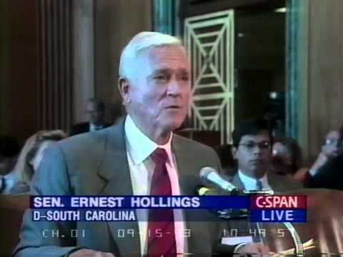 Sen  Hollings B roll 2