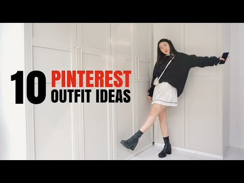 10 PINTEREST OUTFIT IDEAS✨ - MIX & MATCH OOTD with OPPO | Indonesia - YouTube