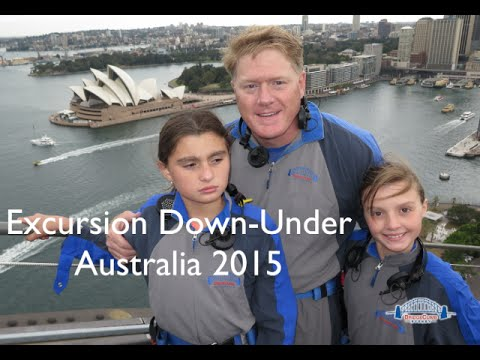 Excursion Down-Under Australia 2015
