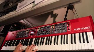 Nord Stage 2 Cover - Various Artists & Sounds (Mash-up #1)