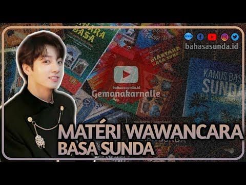 Materi Wawancara Sunda Bahasasunda Id Youtube