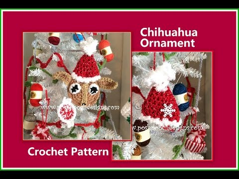 Chihuahua Ornament Crochet Pattern