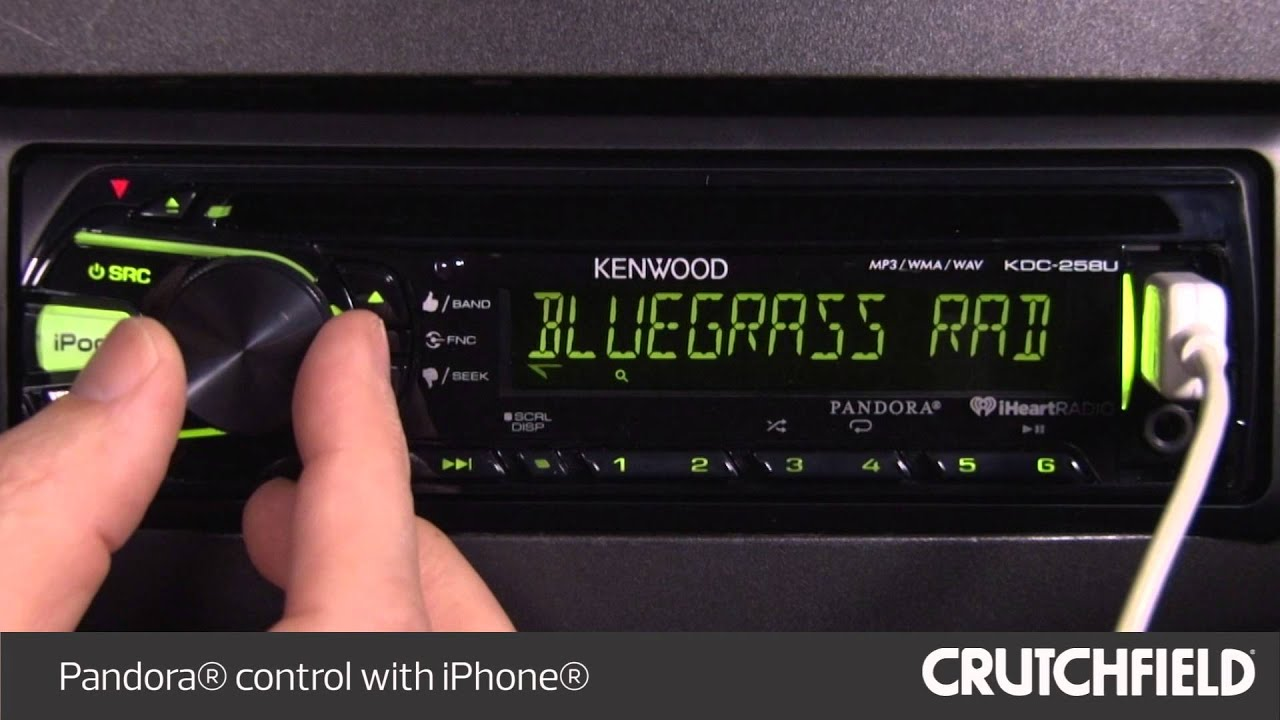 kenwood kdc 258u display and controls demo crutchfield video [ 1280 x 720 Pixel ]
