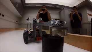 UVic Engineering Design Project | Nuclear Waste Clean-up Robot