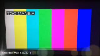 ABS-CBN Test Card (2018-Present)