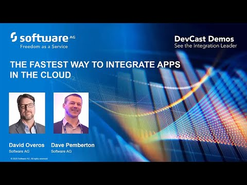 DevCast Demos:  The Fastest way to integrate apps in the cloud