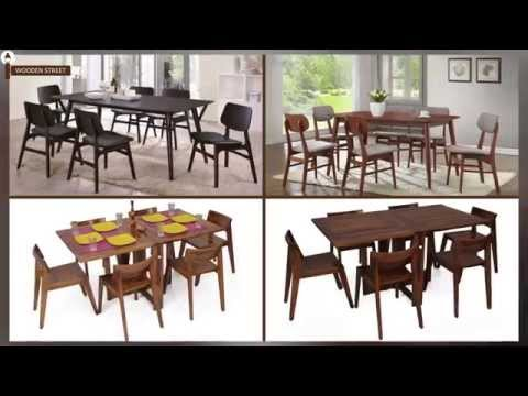 Dining Table - Dining Table Set 6 Seater Online @ Wooden Street