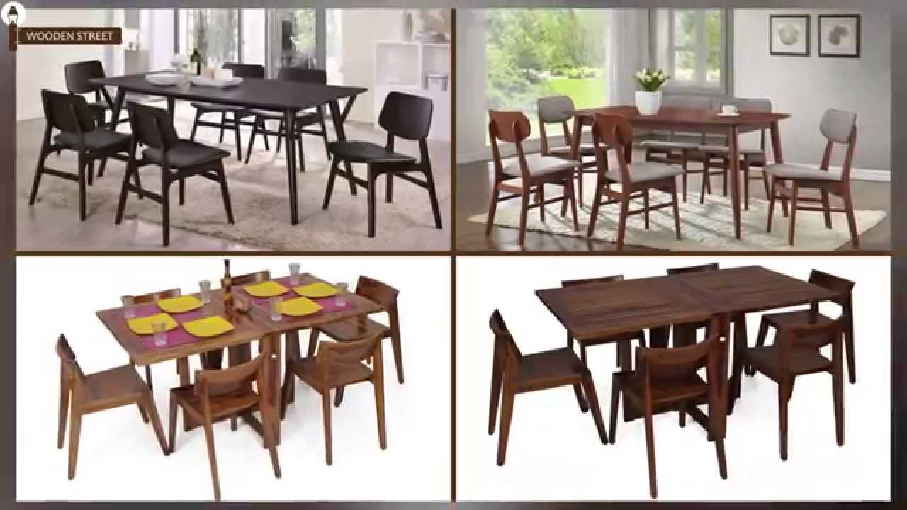 Dining Table   Dining Table Set 6 Seater Online @ Wooden Street   YouTube
