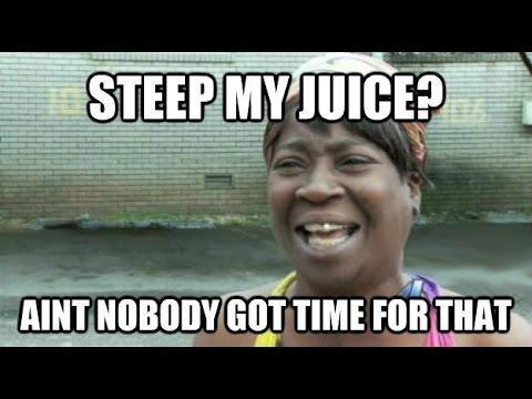 DIY Juice Steeping Tip Doovi