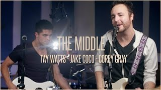 Jimmy Eat World - The Middle (Cover by Tay Watts, Corey Gray and Jake Coco) - Official Music Video