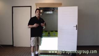 The Budster Grow Box - Hydroponics Group Grow Cabinet
