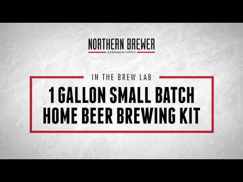 1 Gallon Small Batch Home Beer Brewing Kit Instructions