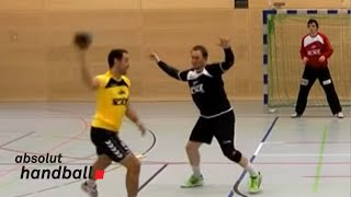 Handball --- Offense-/Tackletraining
